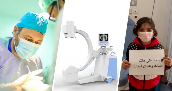 Please Help Us Send Portable X-Ray Machines To Gaza to Fight the Coronavirus